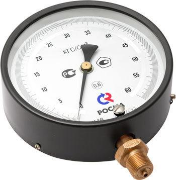 Манометры точных измерений применяются для измерения давления неагресcивных к медным сплавам жидких и газообразных